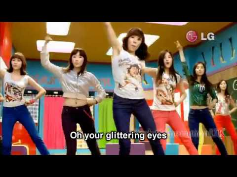 SNSD - Gee English Sub HD GIRLS GENERATION