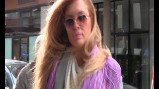 Esther Cañadas, muy cambiada, reaparece en Barcelona