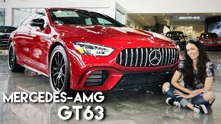 Conheça o Mercedes-AMG GT 63 4-door Coupé 2019