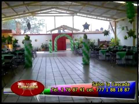 La cascada salon de eventos el lugar ideal youtube for Salon villa jardin naucalpan