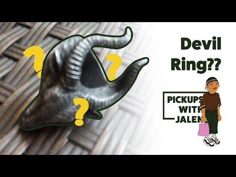 Devil Ring from Etsy, Cheap Streetwear Ring!!!: Jalen Grayson