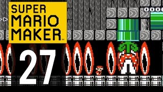 Super Mario Maker Gameplay - Part 27 - Baby Bowser's Trick House