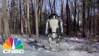 Google's Future in Robotics: Meet Atlas   Tech Bet   CNBC