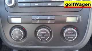VW Golf 5 / VW Jetta / VW Passat B6 - how to testing climatronic - climatronic test