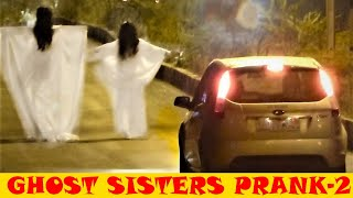 REAL GHOST SISTERS PRANK PART 2 (EXTREME) BEST FUNNY VIDEO | PAPACRAZY