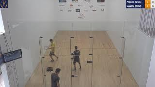 2018 Racquetball World Championships - Men's Round Robin - Franco COL vs Ugalde ECU