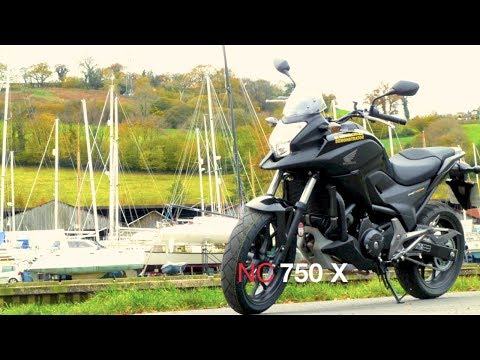 HONDA NC750X First Ride Road Test Review GT Motorcycles