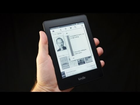 Amazon Kindle PaperWhite: Unboxing & Review