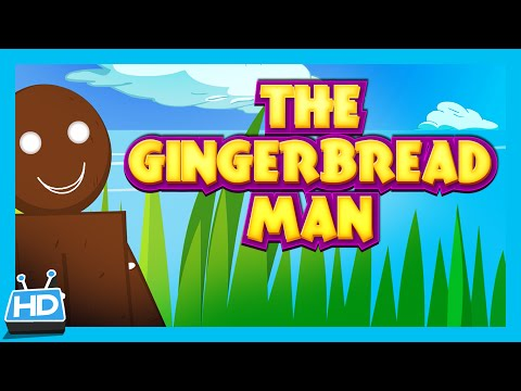 The Gingerbread Man Story (short Story For Kids) video