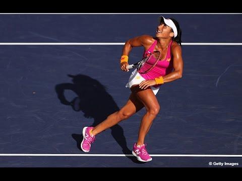Miami Open First Round | Heather Watson vs Petra Cetkovska | WTA Highlights