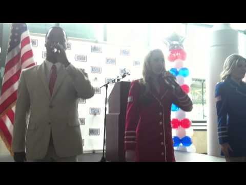 U.S.O Grand Opening Ceremony.  Nashville International Airport.