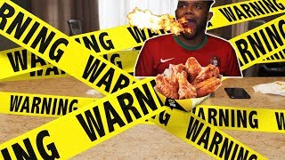 EPIC BLAZIN HOT WING CHALLENGE | COMPLETE FAIL