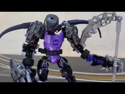 Lego BIONICLE-MOC Серендвэйдунг Review (обзор)