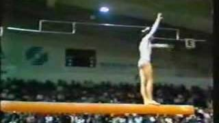 NATALIA SHAPOSHNIKOVA-BEAM 1979 EUROPEANS EVENT FINALS