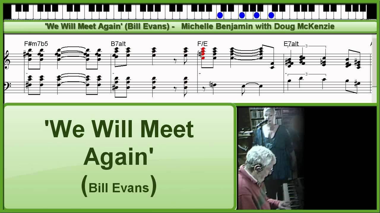 bill evans we will meet again lyrics