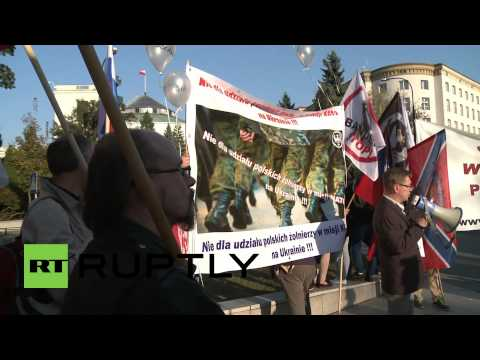 Poland: Protests rally against military support for Ukrainian government