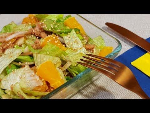 Вкус для наслаждения.Сочный  овощной салат. Рецепты салатов.