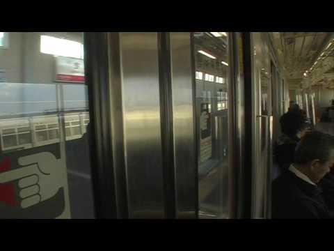 大阪環状線103系の車窓(2) 大正→天王寺 Window View of Osaka Loop Line