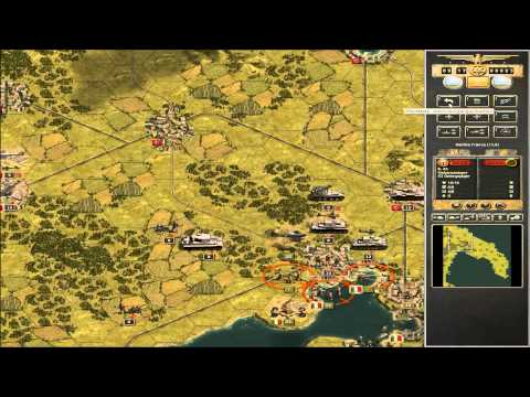 Let´s play Panzer Corps: Taranto Teil 2 (Grand Campaign West 42-43)
