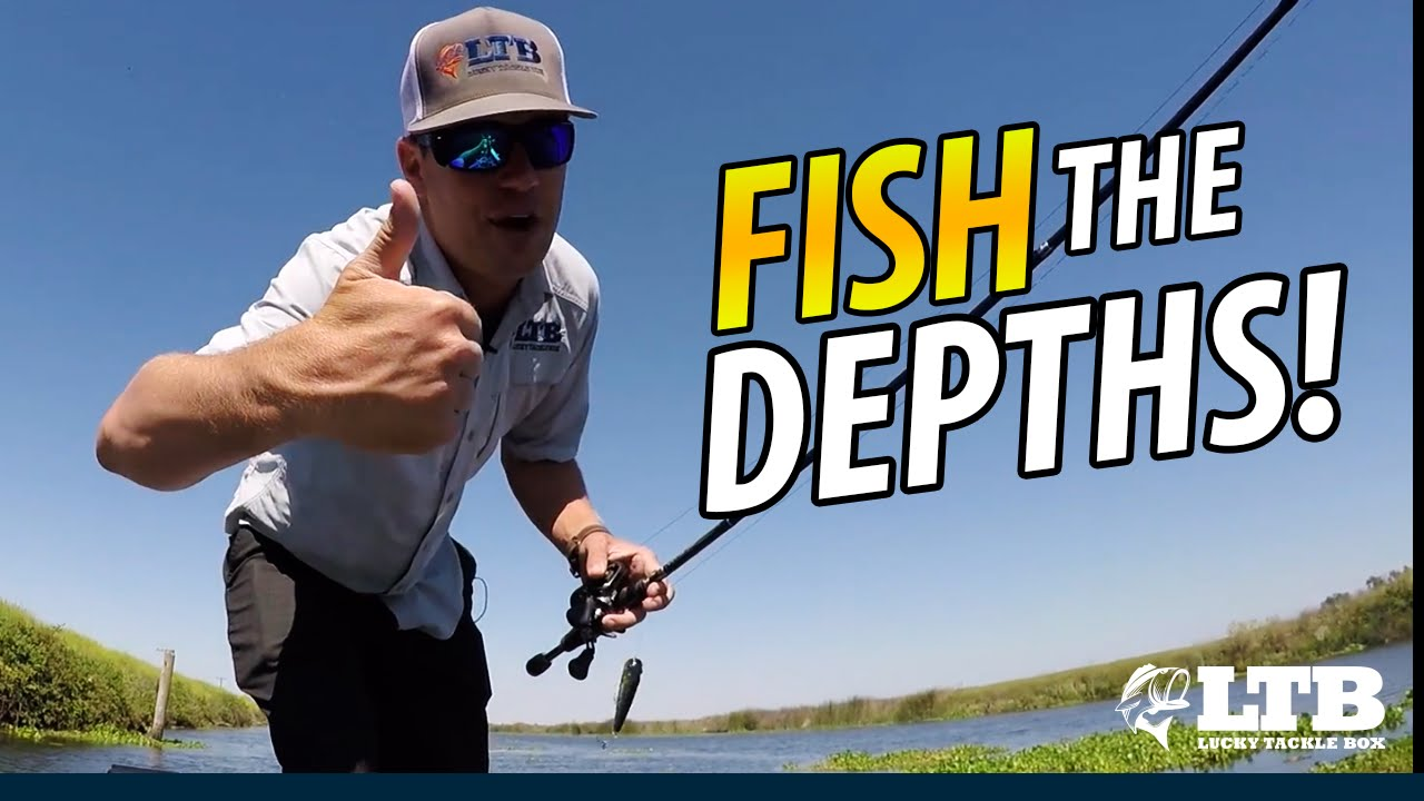 Fishing Different Depths  Lucky Tackle Box Tips