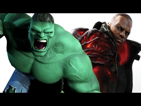 Prototype 2 vs The Incredible Hulk Music Videos