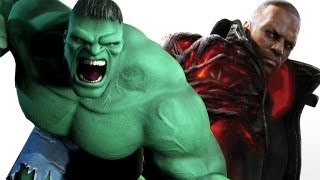 Prototype 2 vs The Incredible Hulk