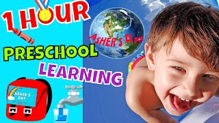 1 Hour Preschool Learning Asher's Day