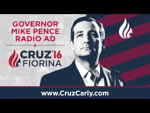 Pence | Cruz for President Radio Ad | #CruzCarly2016
