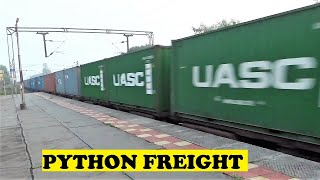 Tiny Yuva VS Triple Loco Massive Container Freight Blasts
