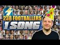 238 FOOTBALL PLAYERS - 1 SONG!! 😂  ED SHEERAN SHAPE OF YOU FOOTBALLERS SUBSCRIBER FUNNY COVER REMIX mp3 download