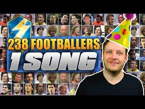 ◆動画小ネタ◆人気サッカープレーヤーを200人以上連呼する歌に香川真司が入っていると話題に!