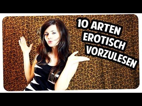 10 Arten erotisch vorzulesen! Sexy Stimme-Tutorial mit einem Hauch Ironie