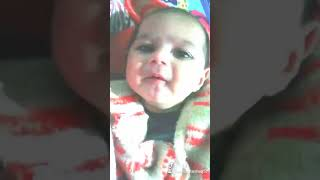 #funny Expression of baby#call the police😎😋