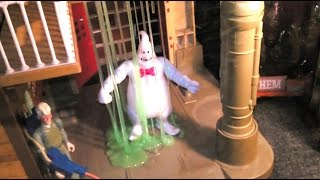 Sliming My New Ghostbusters Toy Rowan & Review of Stay Puft and Mayhem Figures