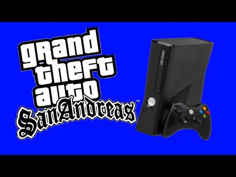 GTA San Andreas Mods on Xbox 360