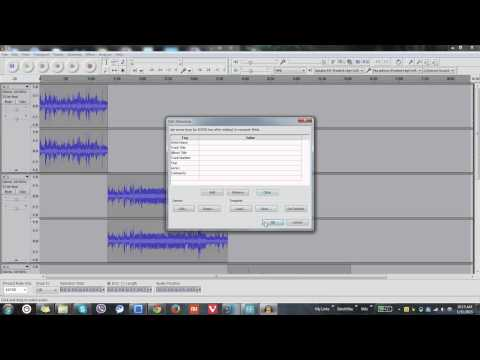 Combining Multiple Audio Files into a Single File using Audacity