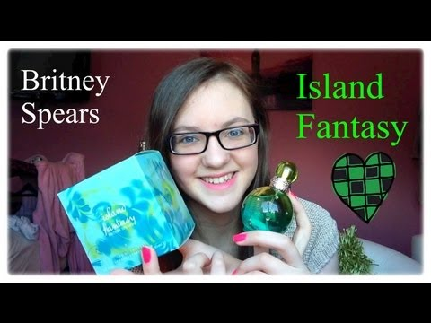 Minniemollyreviews♡island Fantasy By Britney Spears Perfume Review!♡ video