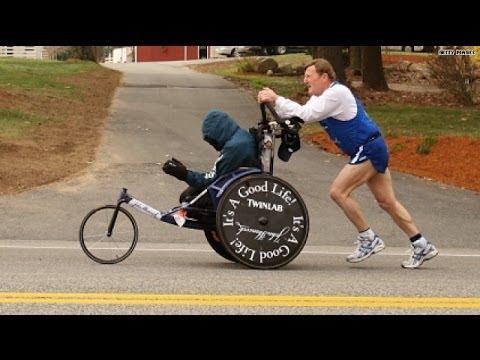 Father/son go out as Boston Marathon legends