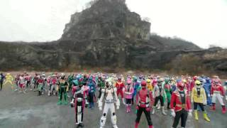 Amazing ~ Power Ranger and Masked Rider All Generation