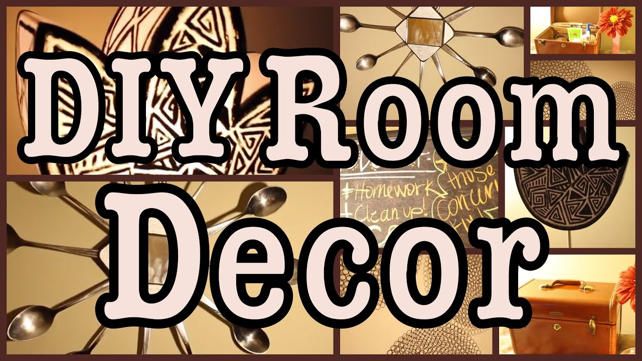 DIY Room Decor Decorating Ideas All from the Thrift
