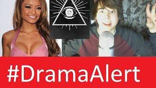 Tila Tequila vs Leafy #DramaAlert illuminati vs Reptilian Interview EXCLUSIVE!