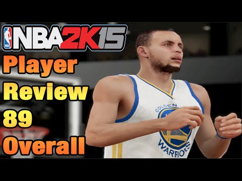 Nba 2k15 player reviews stephen curry 89 overall youtube
