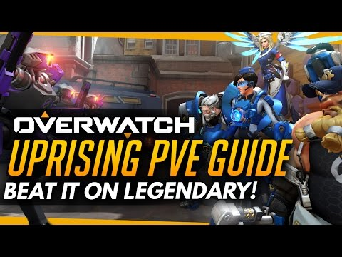 Overwatch | How To Beat Uprising On LEGENDARY - Full Achievement Guide! (PvE Event)