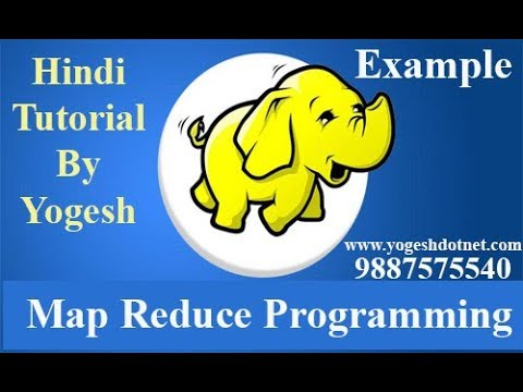 mapreduce in hadoop in hindi Part -2  | WordCount Program | example