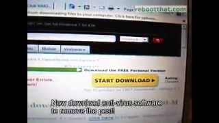 Removing Vista Antivirus Pro Fake Anti-virus program Malware