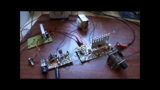 Transmissor de AM para 40m com o MOSFET IRF640