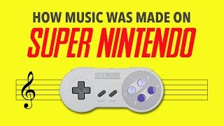 How Music Was Made On Super Nintendo