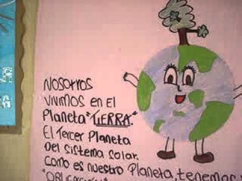 Concurso de cartelera d a de la tierra youtube for Carteleras escolares de reciclaje