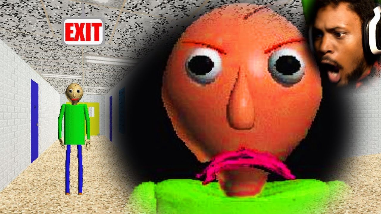 First Gameplay Back... WHAT EVEN IS THIS GAME!? | Baldi's Basics In Education and Learning