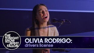 Olivia Rodrigo: drivers license TV Debut